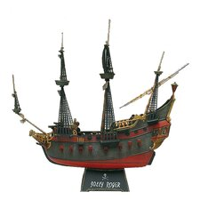 1:96 Caribbean Pirate Ship Boat