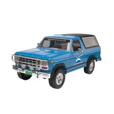 Monogram 1980 Ford Bronco 2N1 Car Model Kit