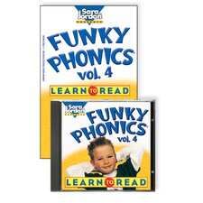 Funky Phonics Learn To Read Vol 4