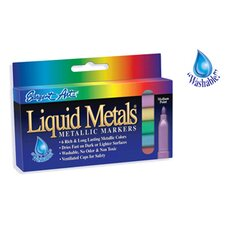 Liquid Metals Metallic 6 Ct