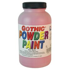1lb Gothic Powder Tempera Red