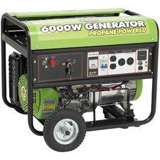 6000 Watt Liquid Propane Generator