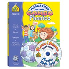 Phonics Flash Action Software &