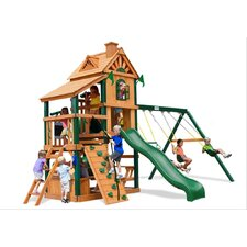 Laredo Swing Set with Wood Roof