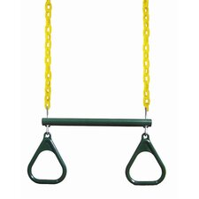 "<strong>Gorilla Playsets</strong> 17"" Trapeze Bar with Rings"