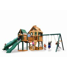<strong>Gorilla Playsets</strong> WoodBridge Swing Set