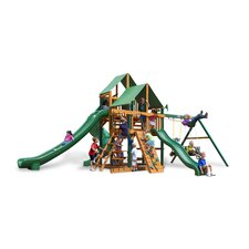 Great Skye II Swing Set with Green Vinyl Canopy