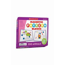<strong>Teachers Friend</strong> Magnetic Pattern Blocks Zoo Animals