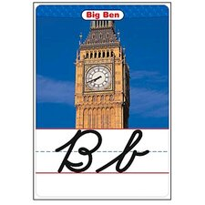 Bb Set Around The World Cursive