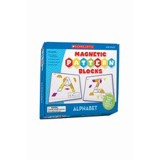 Magnetic Pattern Blocks Alphabet