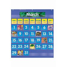 <strong>Teachers Friend</strong> Monthly Calendar Pocket Chart