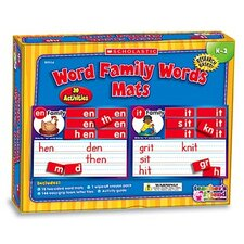 <strong>Teachers Friend</strong> Word Family Words Mats