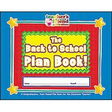 Gr K-5 The Back To School Plan book