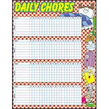 Daily Chores Friendly Chart