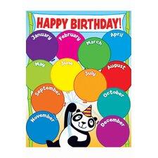 Panda Birthday Chart Gr Pk-5