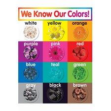 Colors Chart Gr Pk-5