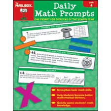 Daily Math Prompts Gr 4