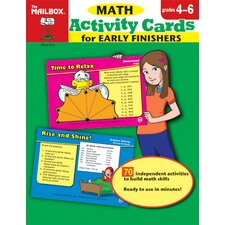 Math Activity Cards For Early