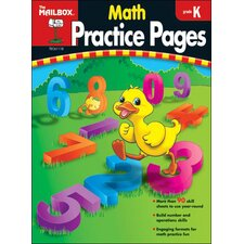 Math Practice Pages Gr K