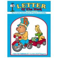 Letter Of The Week Book 1 Gr pk-k