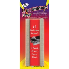 12 in 1 Whiteboard Eraser