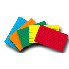 Index Cards 4x6 Lined 100 Ct Brite