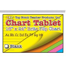 Chart Tablets 16x24 Assorted Blank