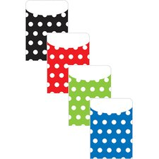 Brite Pockets Asst Polka Dots 35bag