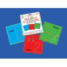 Wikki Stix Numbers & Counting Cards (Set of 36)