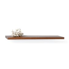 InPlace Floating Decorative Wood Shelf