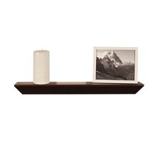 InPlace Floating Decorative Wood Accent Ledge