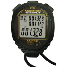 Multi-Mode 500 Memory Advanced Timing Stopwatch