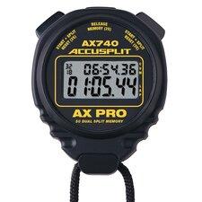 AX Professional Dual Split Stopwatch