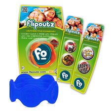 Flipoutz Bracelet with One Coin and Two Additional Coin Pack in Blue