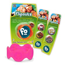 <strong>Wild Creations</strong> Flipoutz Bracelet with One Coin and Two Additional Coin Pack in Hot Pink