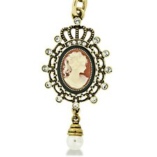 Antique Cameo Keychain