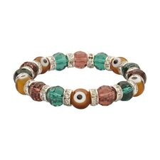 Evil Eye Gorgeous Glass Bracelet
