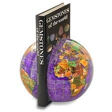 Gemstone Globe Book Ends (Set of 2)