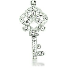 Crown Key Keychain