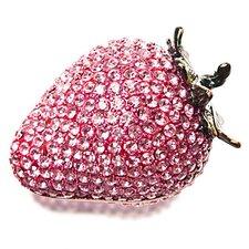 Vanity Strawberry Crystal Gift Box