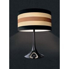 "Malivizi 25.59"" Table Lamp Drum Shade"