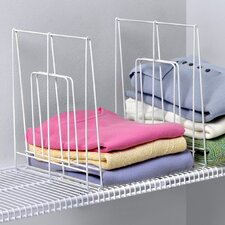 Closet Organization Ventilated 1 Pack Shelf Divider