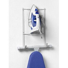 Wall Mount Iron and Ironing Board Holder
