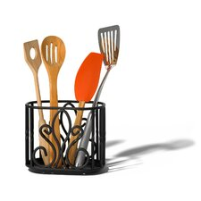 Patrice Utensil Holder in Black