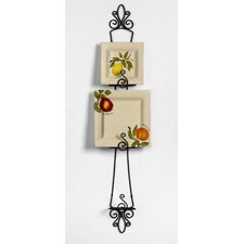 Patrice 3-Tier Plate Rack in Black