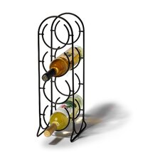 <strong>Spectrum Diversified</strong> Horseshoe 4 Bottle Tabletop Wine Rack
