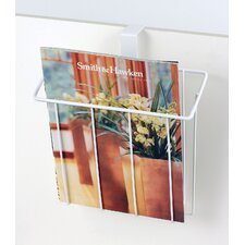 Bath Accessories Over The Tank Magazine Rack