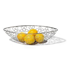"<strong>Spectrum Diversified</strong> Flowers 6.875"" Fruit Bowl"