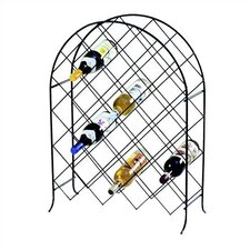 <strong>Spectrum Diversified</strong> Trellis 30 Bottle Wine Rack