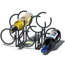 <strong>Spectrum Diversified</strong> Euro 5 Bottle Tabletop Wine Rack